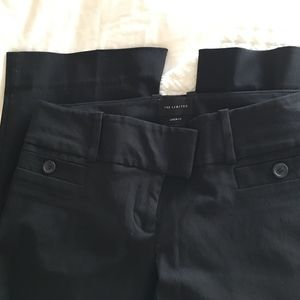 The Limited Drew Fit Black Pants